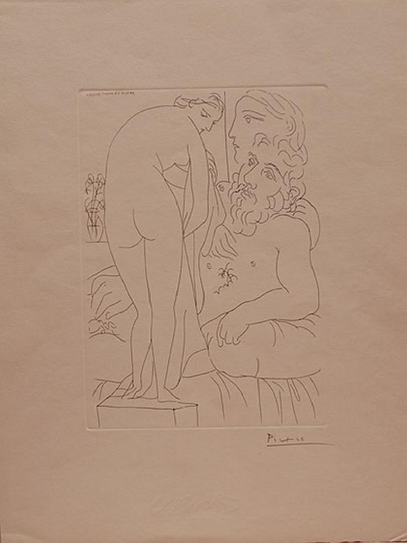 Pablo Picasso (Spanish, 1880-1973), Le repos du