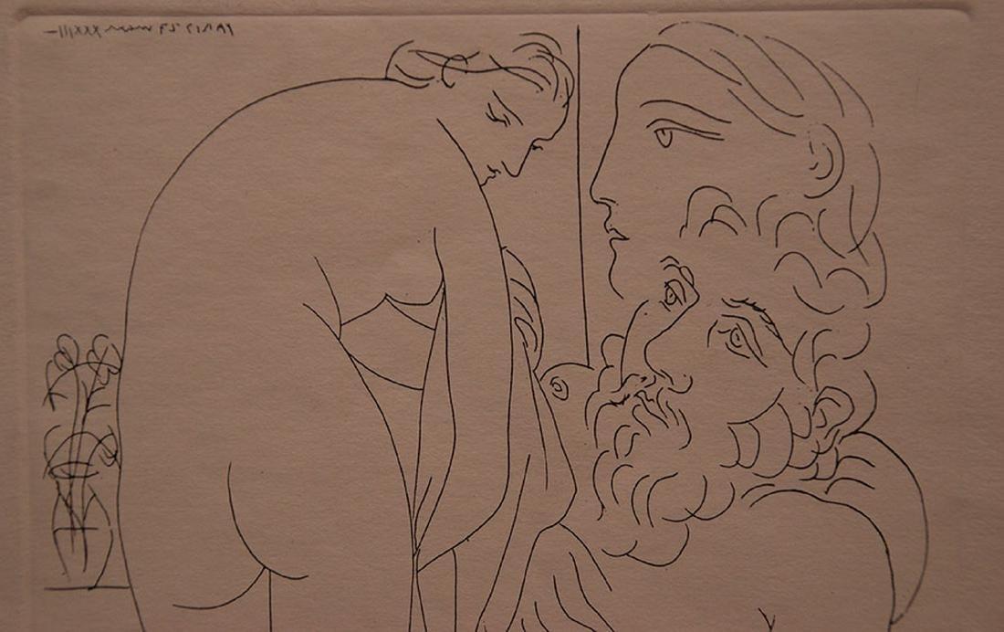 Pablo Picasso (Spanish, 1880-1973), Le repos du - 2
