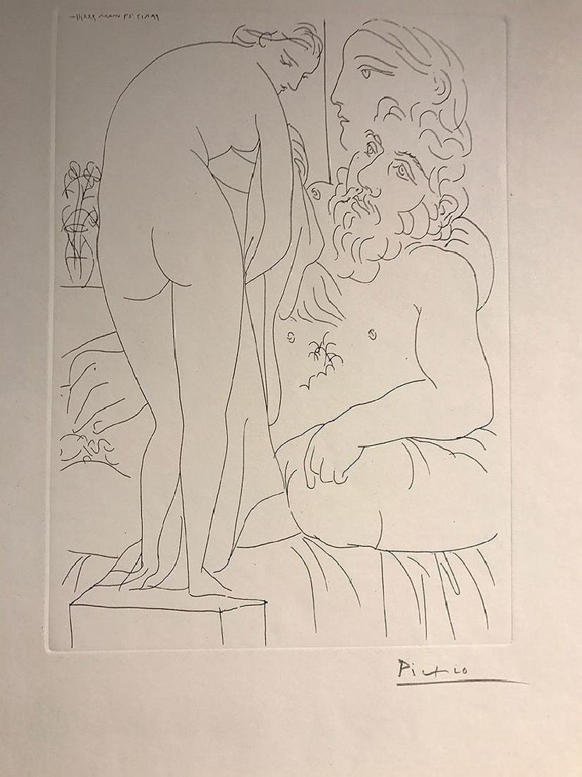 Pablo Picasso (Spanish, 1880-1973), Le repos du - 6