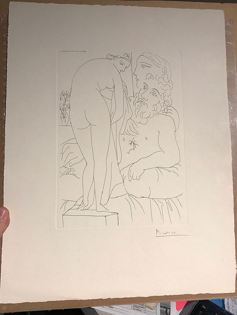 Pablo Picasso (Spanish, 1880-1973), Le repos du - 7