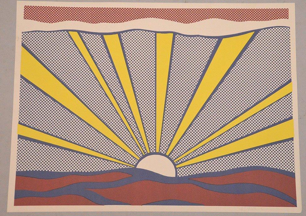 Roy Lichtenstein (American, 1923-1997) Sunrise, 1965
