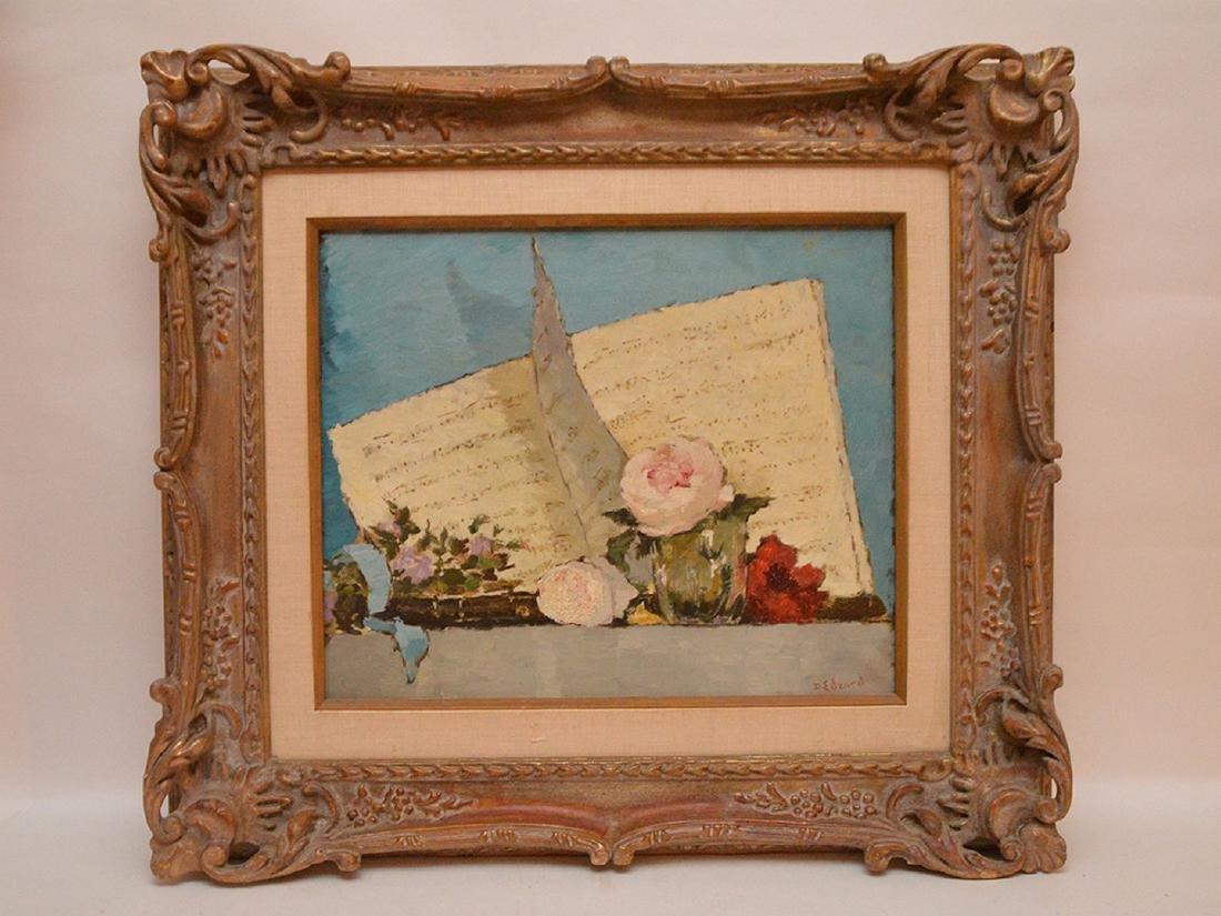 Dietz Edzard (GERMAN, 1893-1963) oil on canvas,