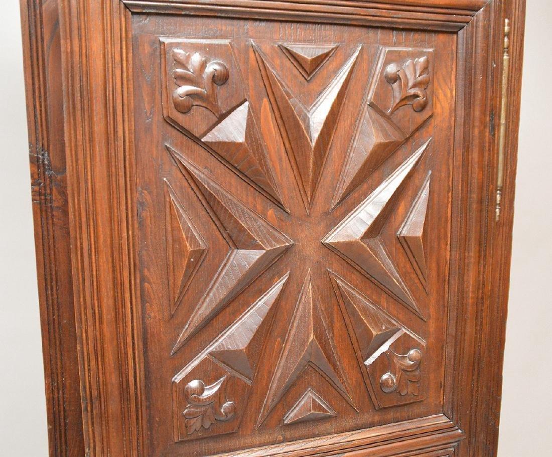 19th c. Continental carved single door cupboard, 75 - 4