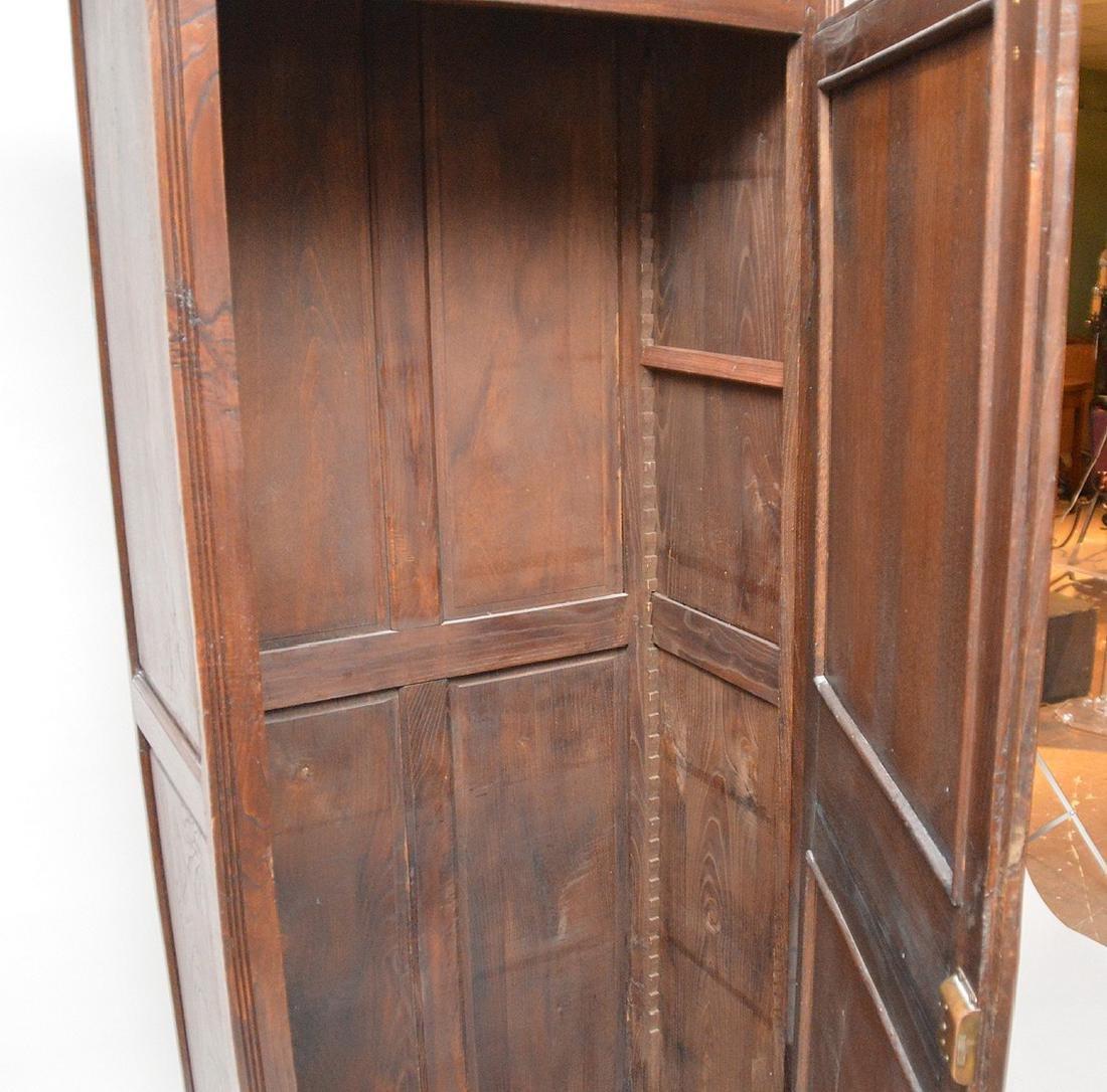 19th c. Continental carved single door cupboard, 75 - 5