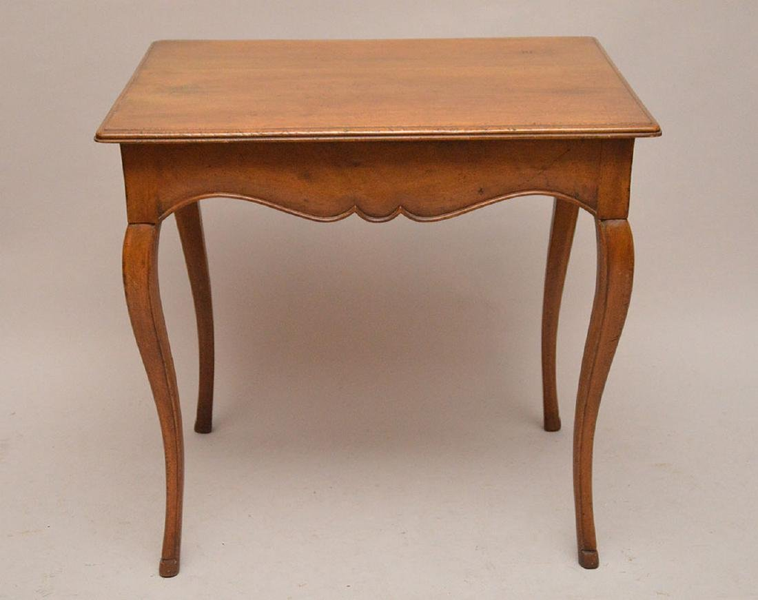 French table, rectangular