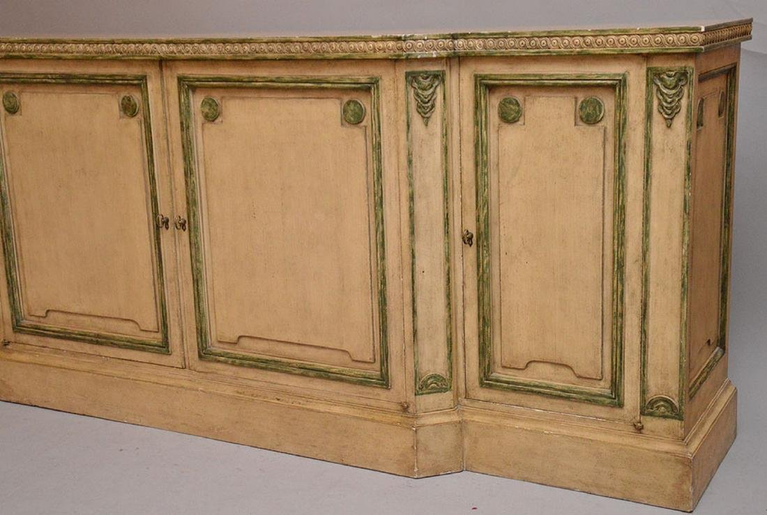 Italian painted sideboard - 2