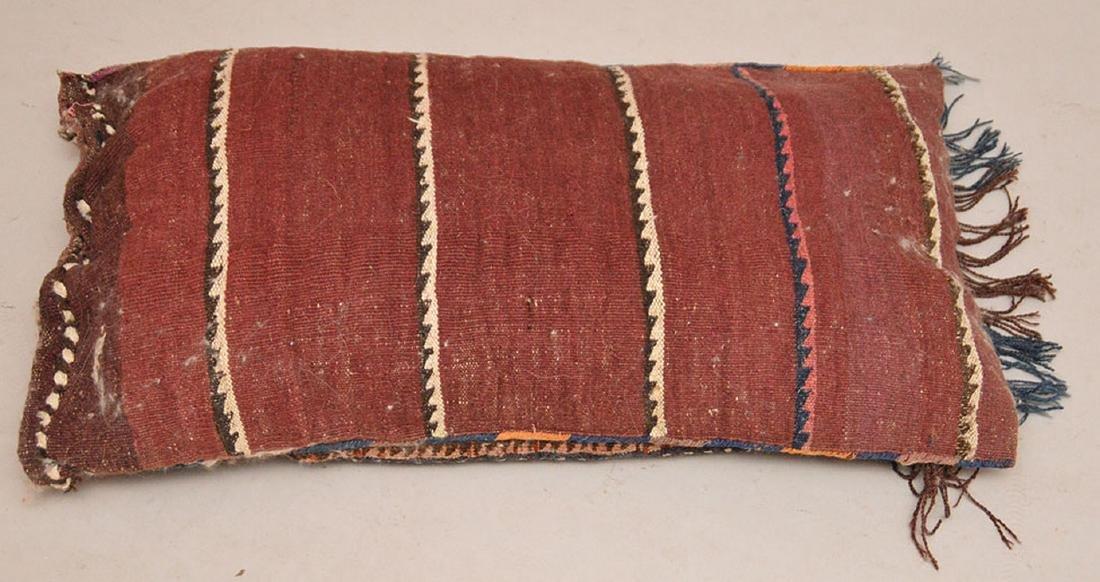 "Pillow form saddle bag, 32""L x 19""w - 3"