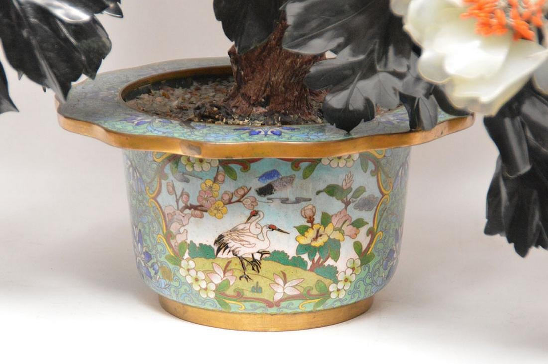 Jade floral tree - 2