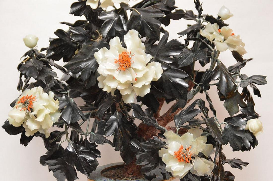 Jade floral tree - 3