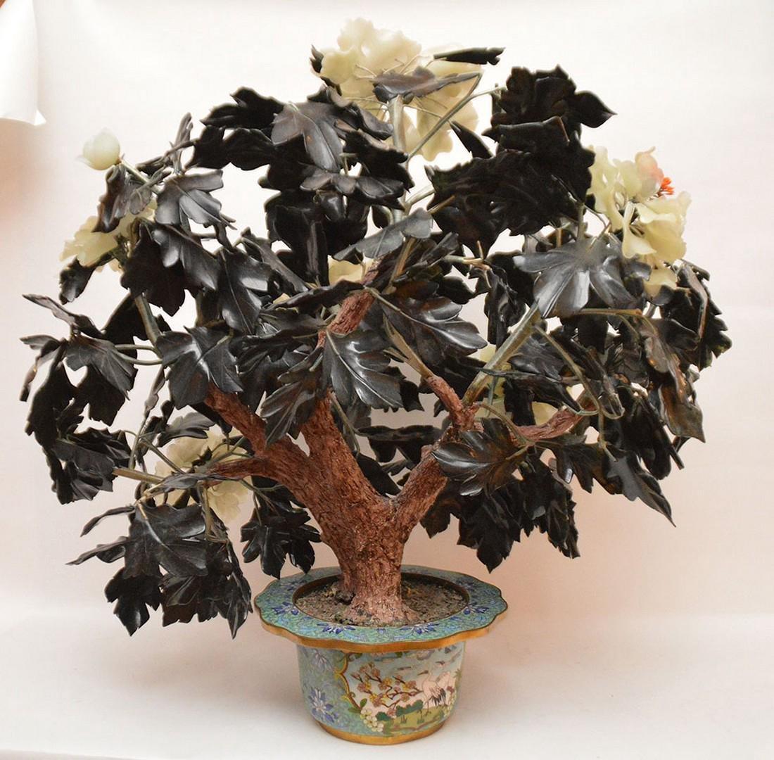 Jade floral tree - 5
