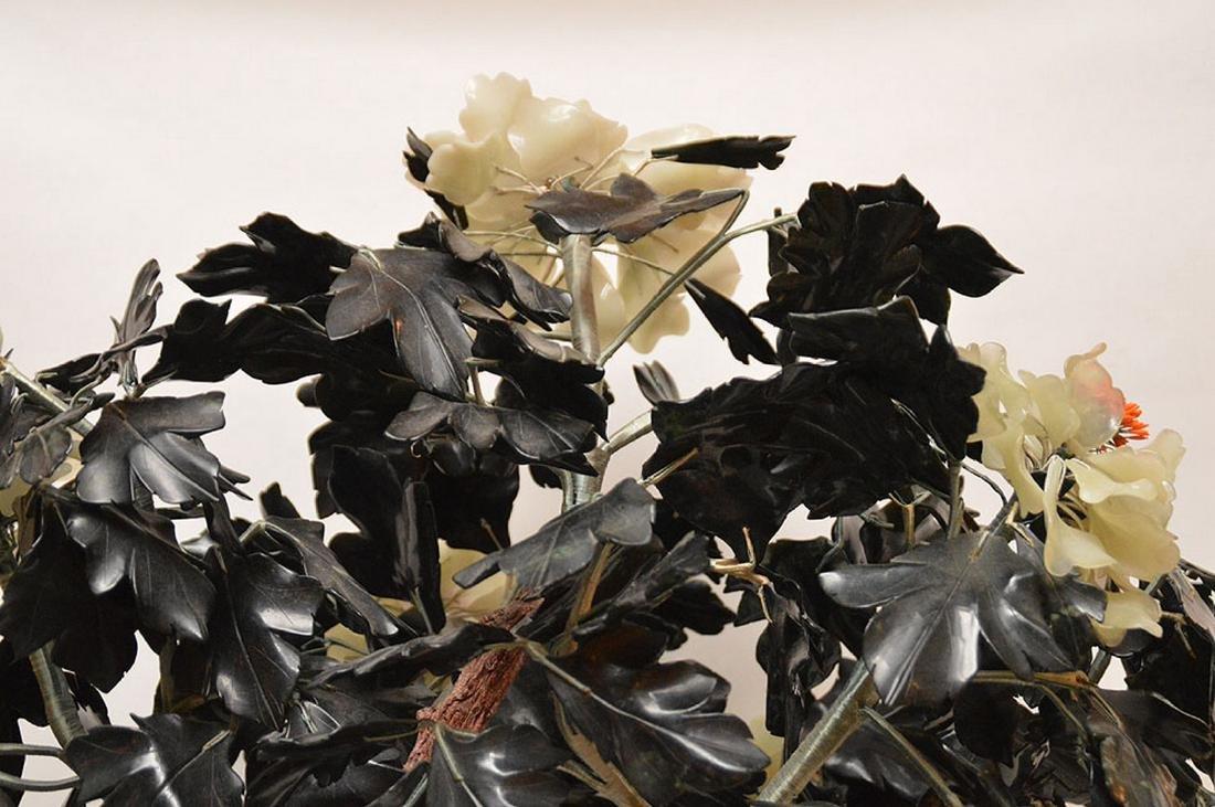Jade floral tree - 6