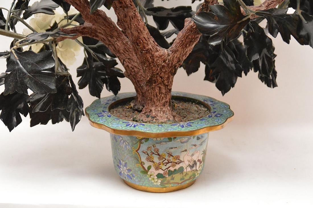 Jade floral tree - 7