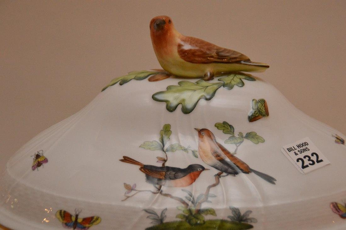 "Herend lidded soup tureen ""Rothschild"", birds, - 2"