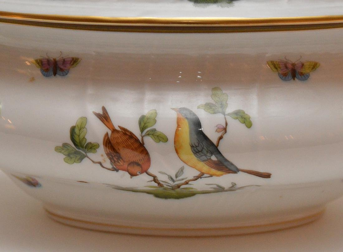"Herend lidded soup tureen ""Rothschild"", birds, - 3"