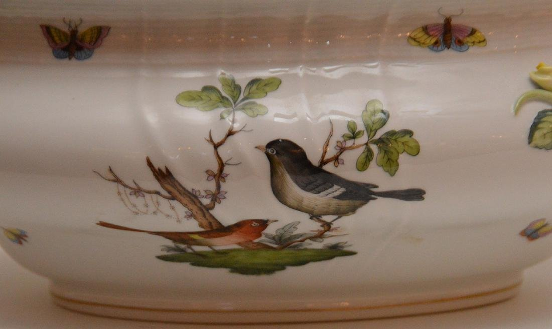 "Herend lidded soup tureen ""Rothschild"", birds, - 5"