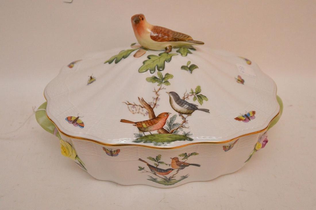 "Herend lidded soup tureen ""Rothschild"", birds, - 2"