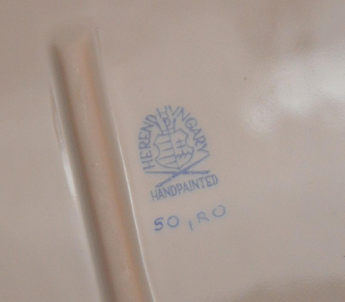 "Herend lidded soup tureen ""Rothschild"", birds, - 6"