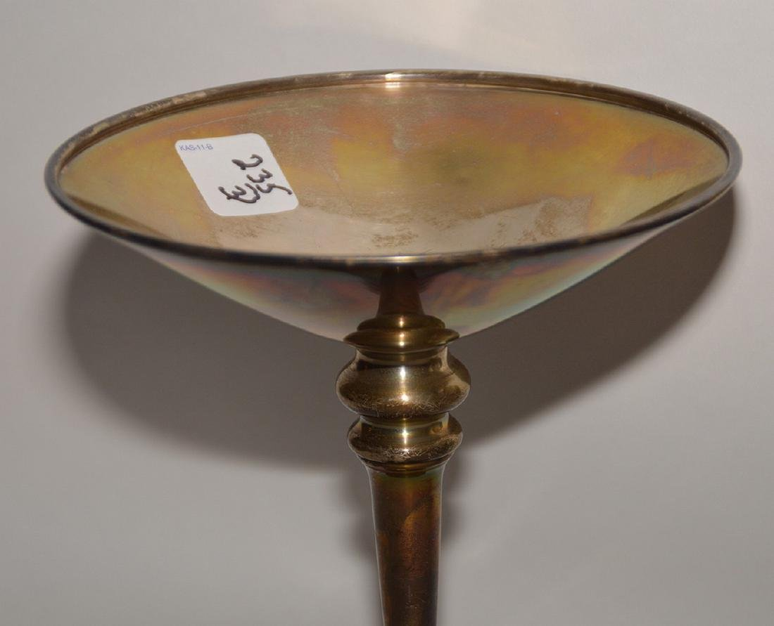 "3pc. Tiffany sterling, incl; platter (10""L), small bowl - 2"