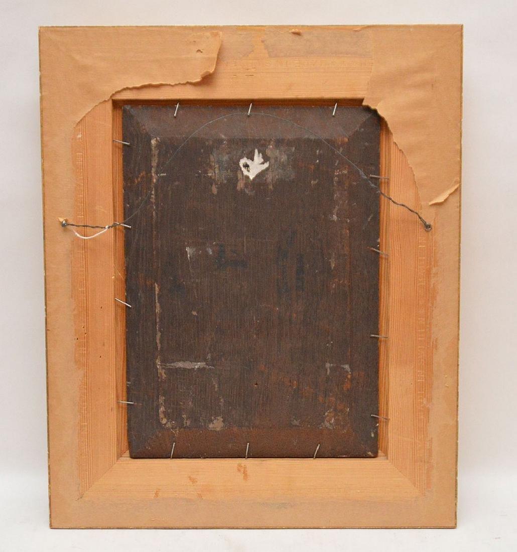 Luigi Marta, 19th Century Italy, oil on panel, man w/ a - 5