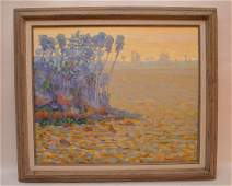 Gregory Behymer (American, 20th C.): Florida Painting,