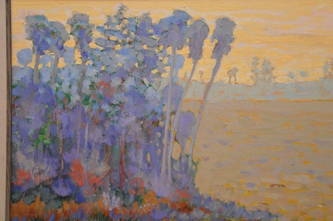 Gregory Behymer (American, 20th C.): Florida Painting, - 2