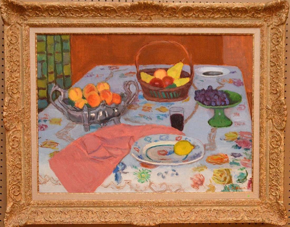 Georges Andre Klein  (France 1901 - 1992) oil on