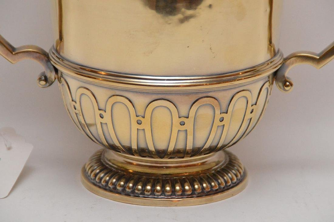 "English sterling loving cup, ""Chricton Ltd"", 21ozt, 7""h - 2"