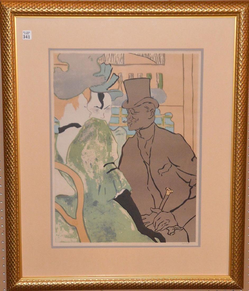 Henri de Toulouse-Lautrec French Poster, edition