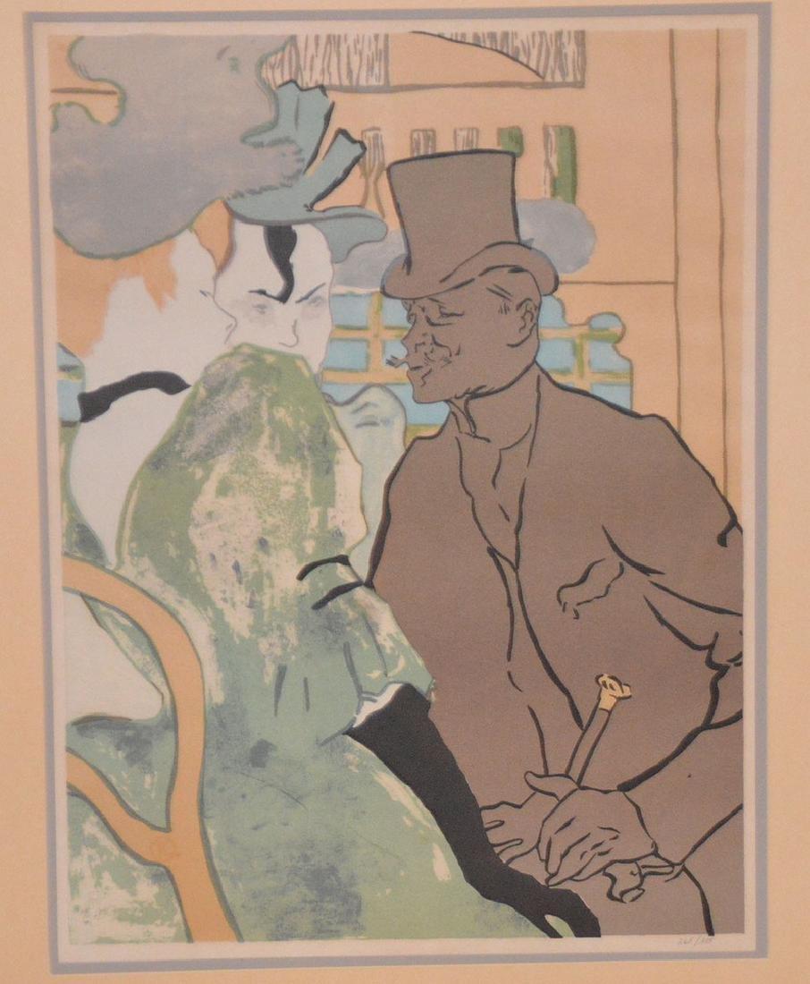 Henri de Toulouse-Lautrec French Poster, edition - 2