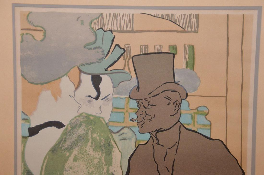 Henri de Toulouse-Lautrec French Poster, edition - 3