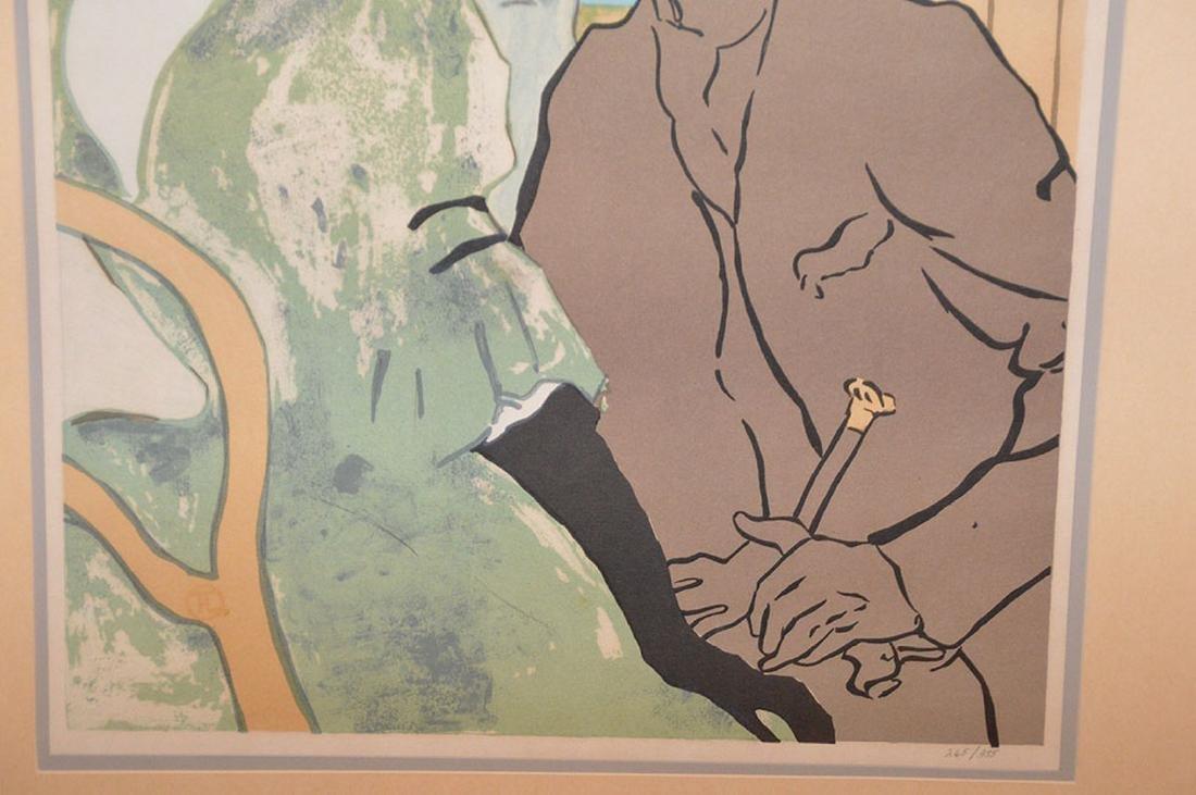 Henri de Toulouse-Lautrec French Poster, edition - 4