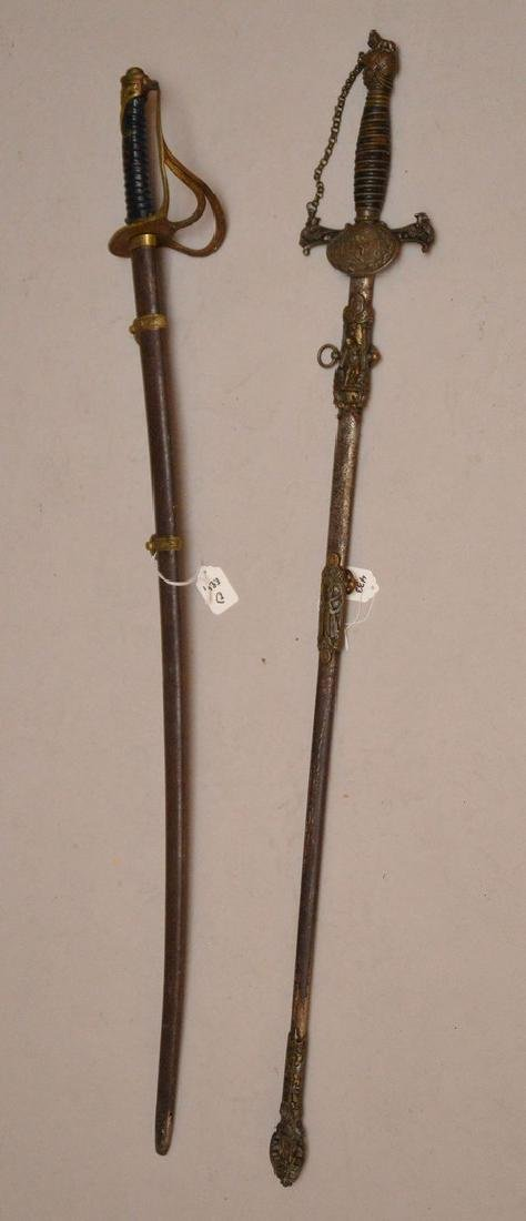 Pair of ceramonial Swords - 4