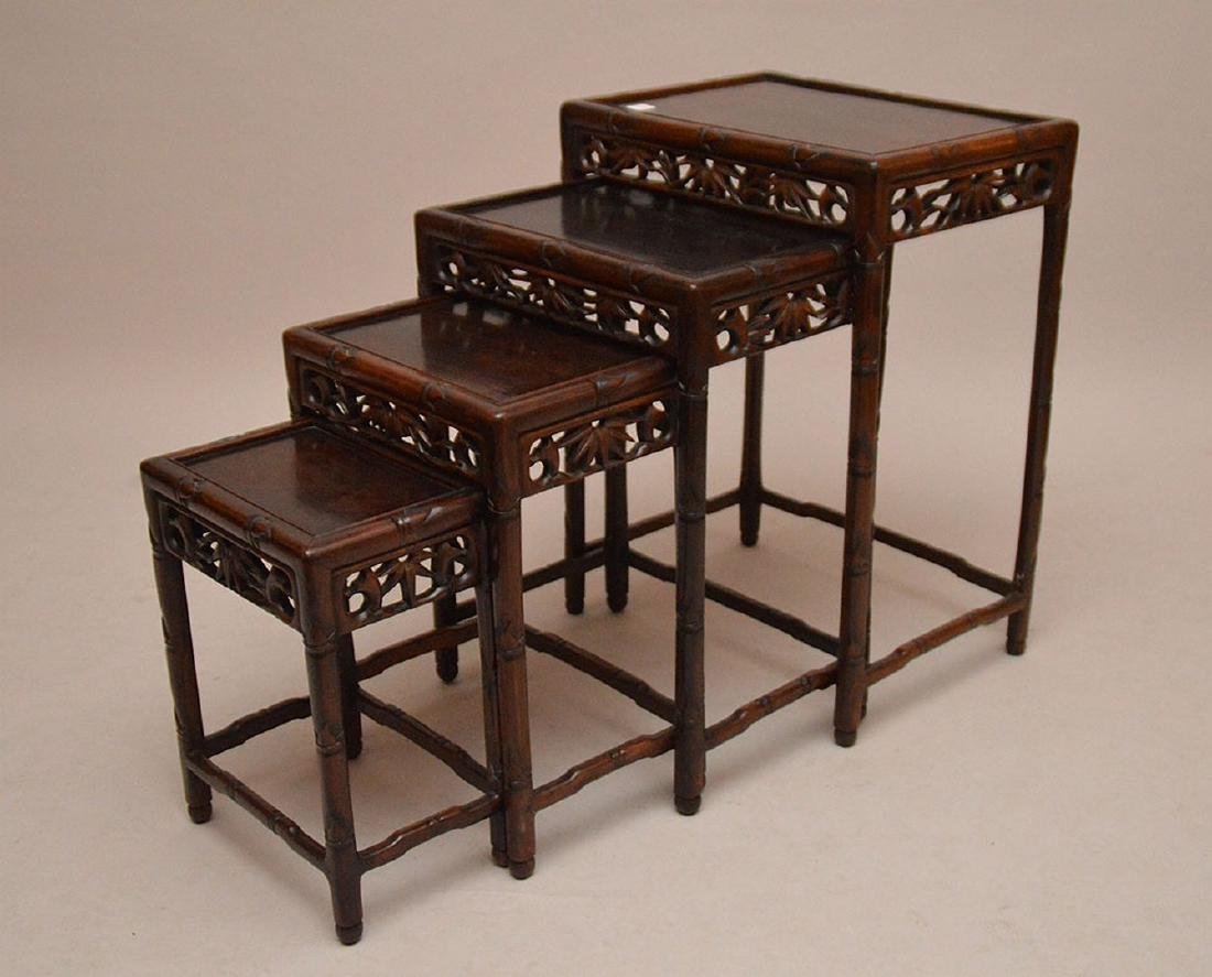 Nest of oriental tables