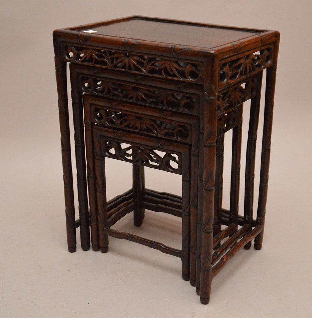 Nest of oriental tables - 2