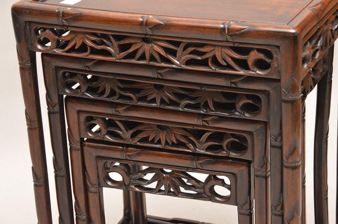 Nest of oriental tables - 3
