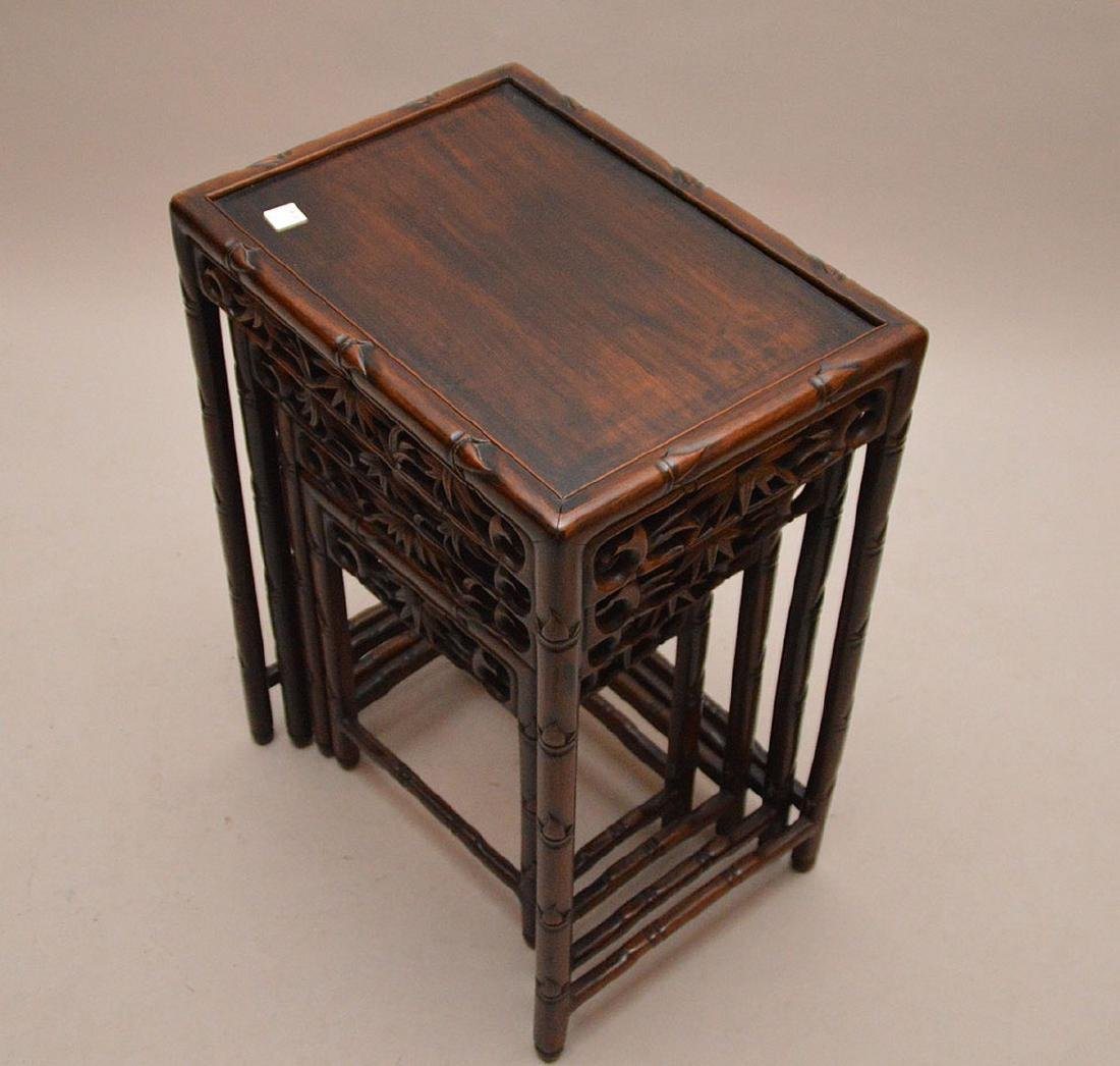 Nest of oriental tables - 4