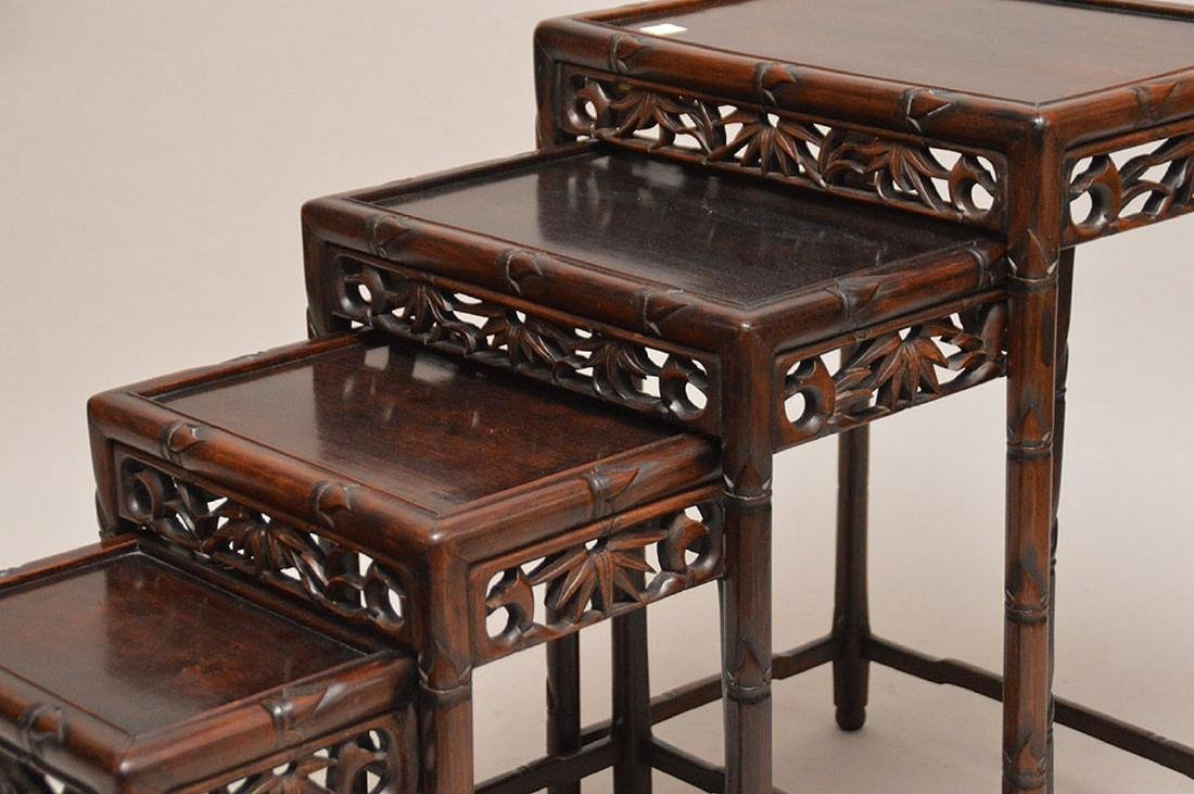 Nest of oriental tables - 5