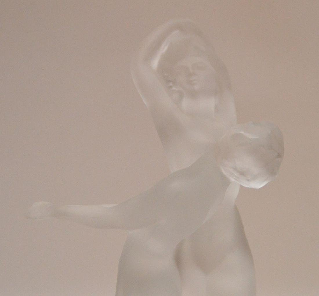 "Lalique Group Women Dancing.  Ht. 10"" - 2"