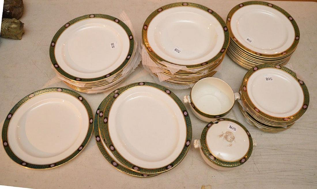 Approximately 50 Pieces Maling English Porcelain