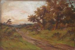 287: Ridgers, signed lower right, oil on canvas, countr