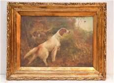 Attr. George Smith Armfield BRITISH School Bird Dog