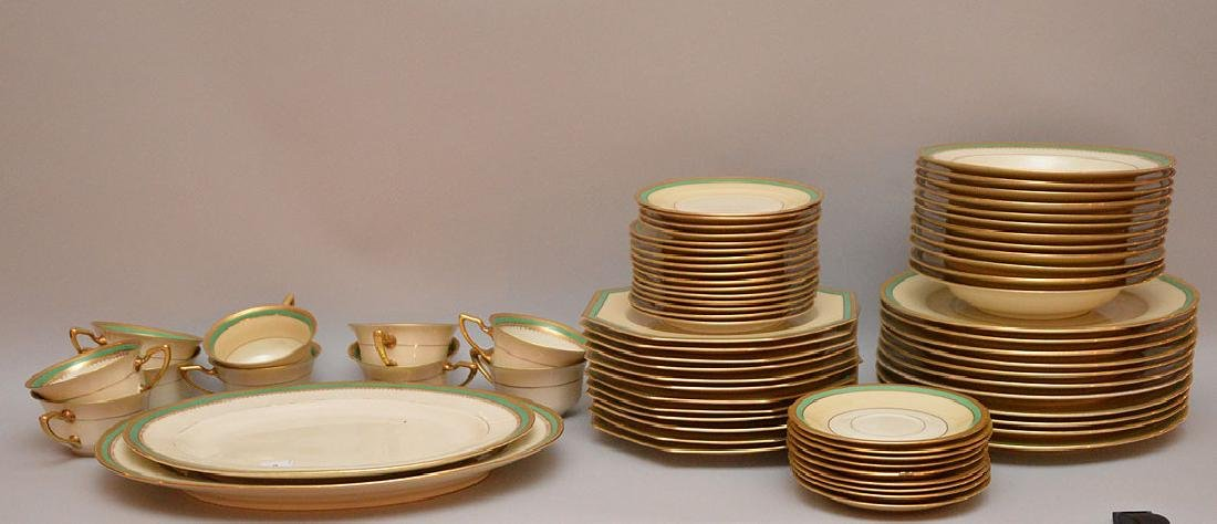 """Rosenthal porcelain """"Ivory"""" china service, 70 pieces,"""