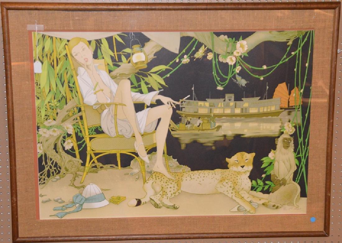 Philippe Henri Noyer (FRENCH, 1917-1985) Hong Kong -