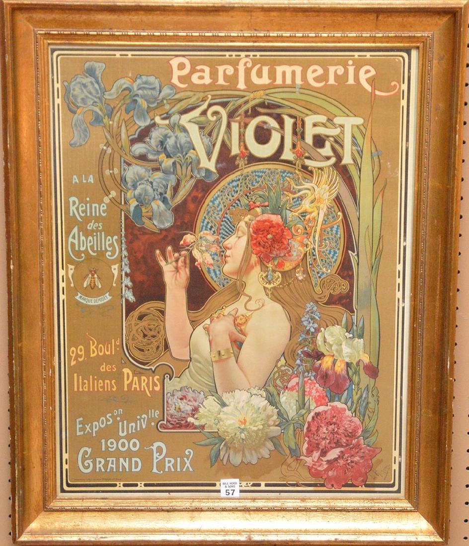French Poster, Parfumerie Violet, Imprimerie d'Art