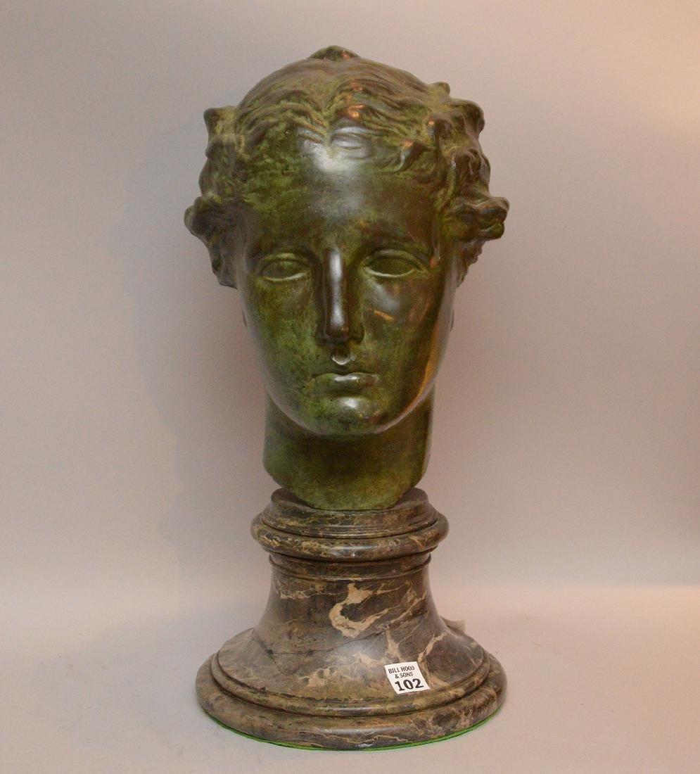 Thomas Hudson Jones (AMERICAN, 1892-1969) bronze bust