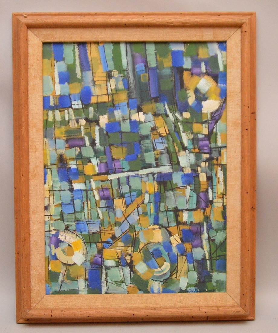 Jules Engel (American/Hungarian, 1909–2003), oil on