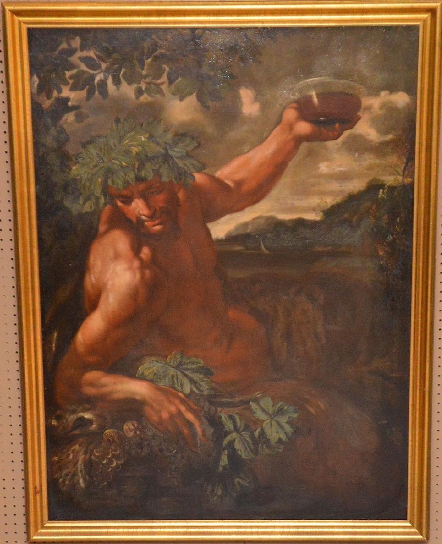 19th Century Continental School, oil on canvas,