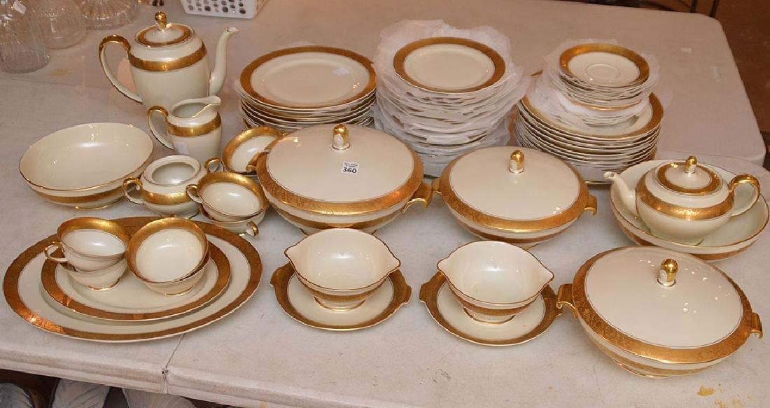 "Rosenthal ""Aida"" china, incl;  12 dinner plates, 22"