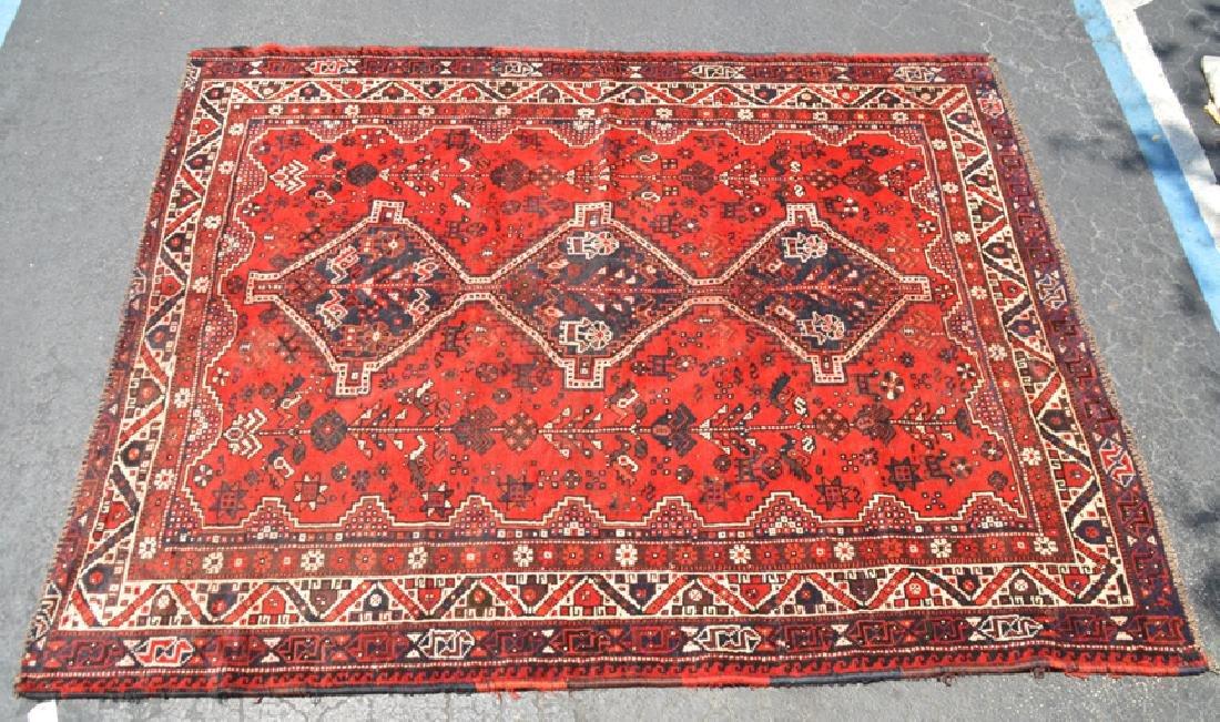 Shiraz Rug, 6.5 x 8 feet