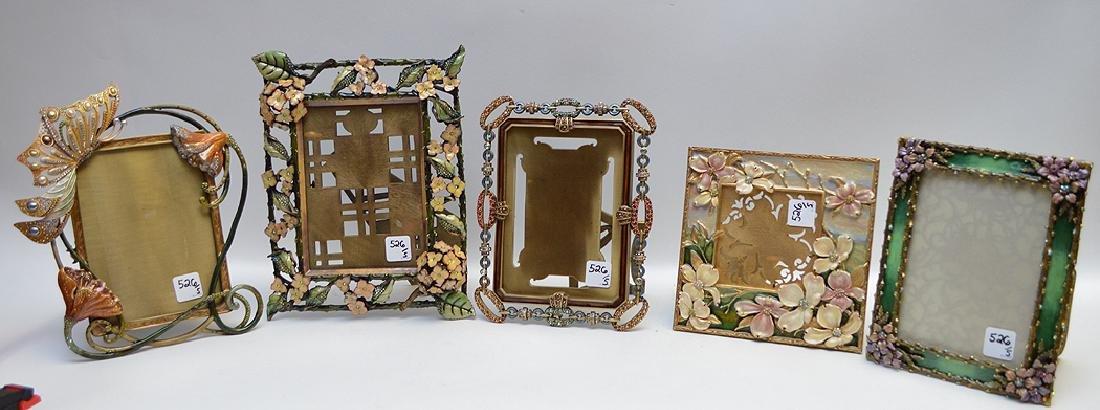 Jay strongwater enamel jeweled frames 1 frame 5 jay strongwater enamel jeweled frames 1 frame jeuxipadfo Choice Image